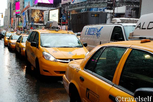 Taxi cab New York photo